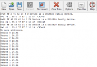 3db DS18B20 digitális hőmérséklet mérő szenzor egy csatornán