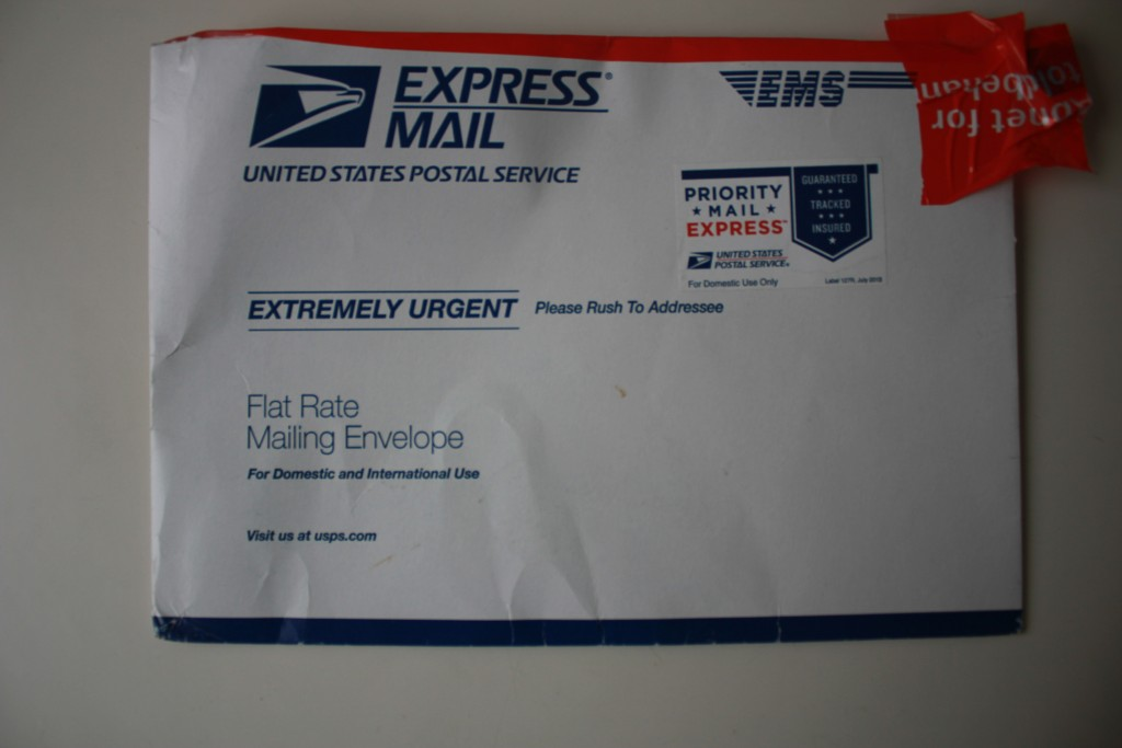 envelop from US