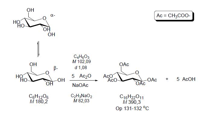 Penta-O-acetil-β-D-glükóz