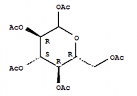 Penta-O-acetil-β-D-glükóz előállítása