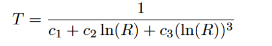 steinhart-hart equation
