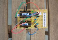 Raspberry és Atmega328 közötti I2C kommunikáció