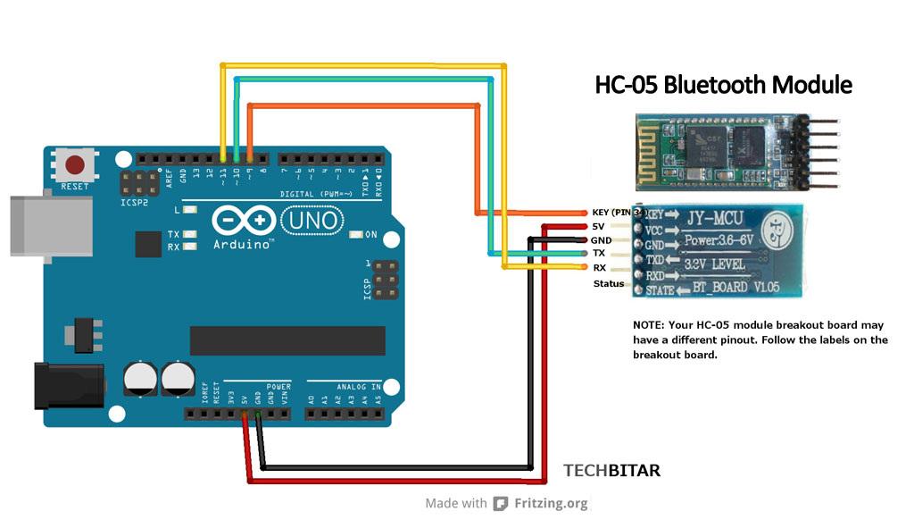 bluetooth modul arduino