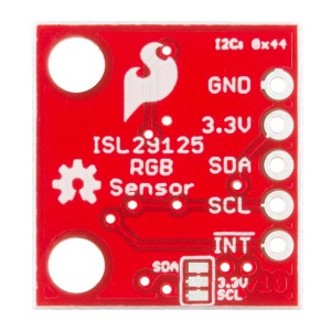 RGB Light Sensor - ISL29125 back