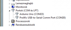COM ports