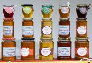 A méz színe